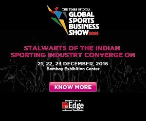 The Times of India - Global Sports Business Show 2016