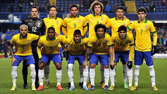 Brazil foot ball team