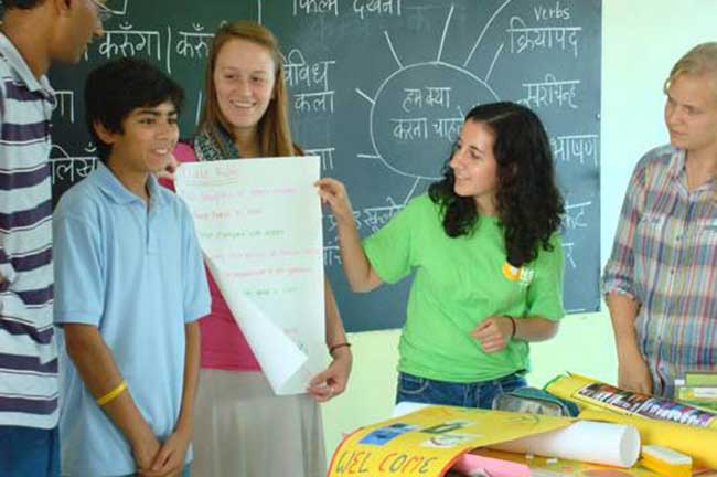 hindi class in usa
