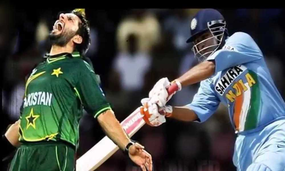 India Pak cricket match