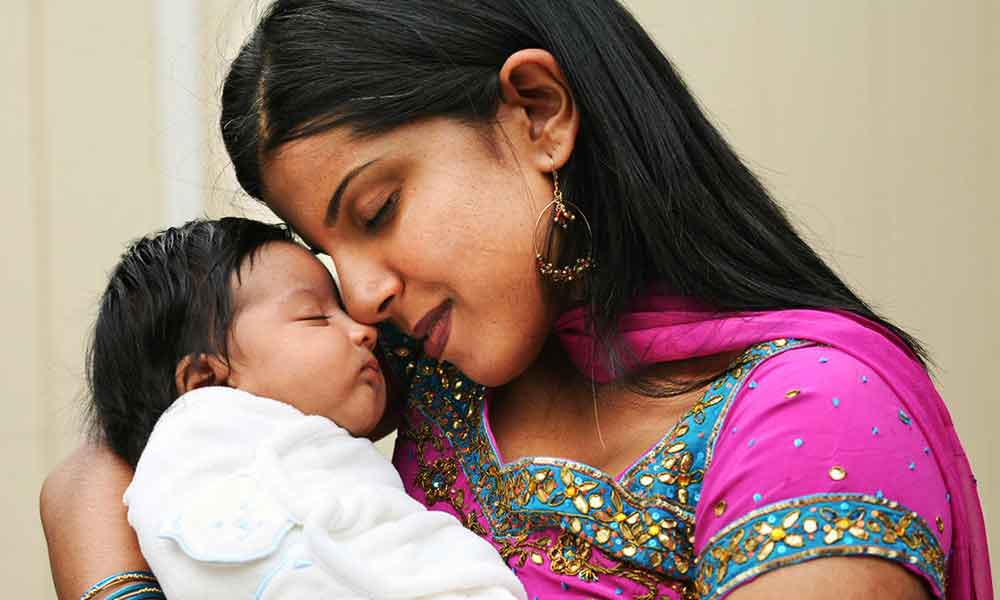 Indian mother lullaby