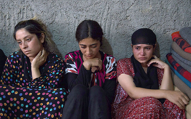 Young Isis victim girls
