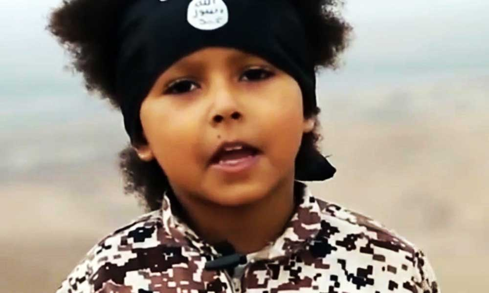 4 years old youngest isis jehadi