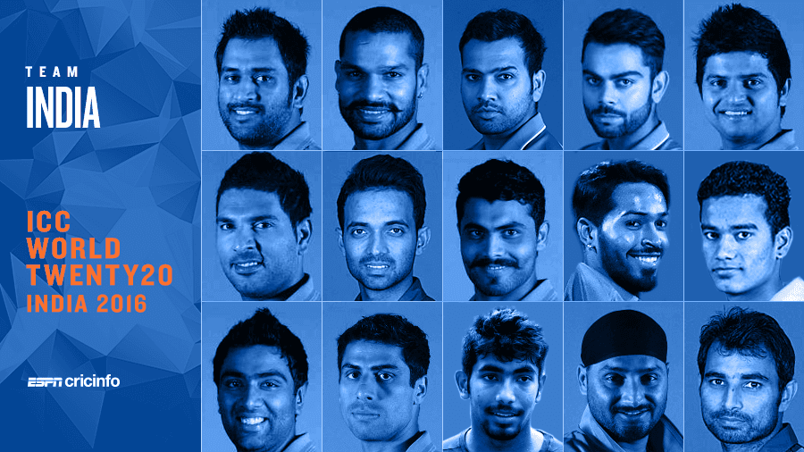 T-20 Worldcup squad