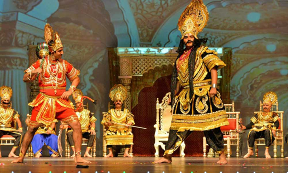 Angad Challenges Ravana In His Court