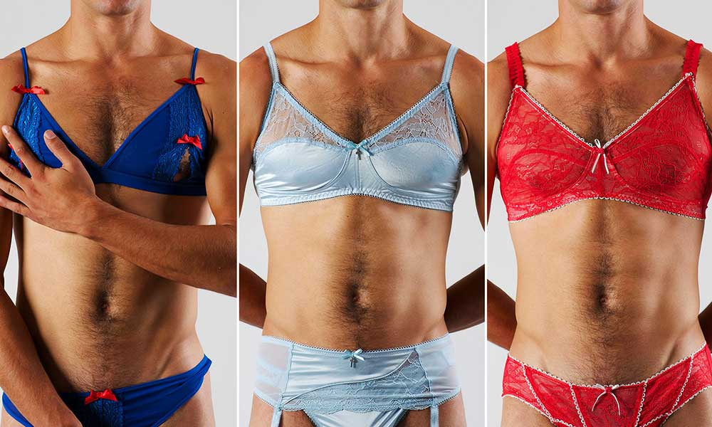 why men wear womens underwear