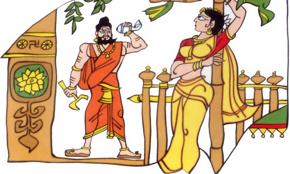 a mistake of sita lead to a war