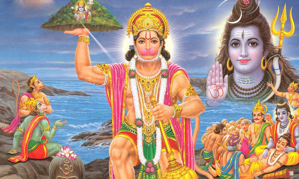 Lord Shiva Tested Mahabali Hanuman