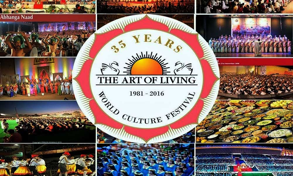 Art of Living Celebrate World Cultural Festival on 35th Anniversary