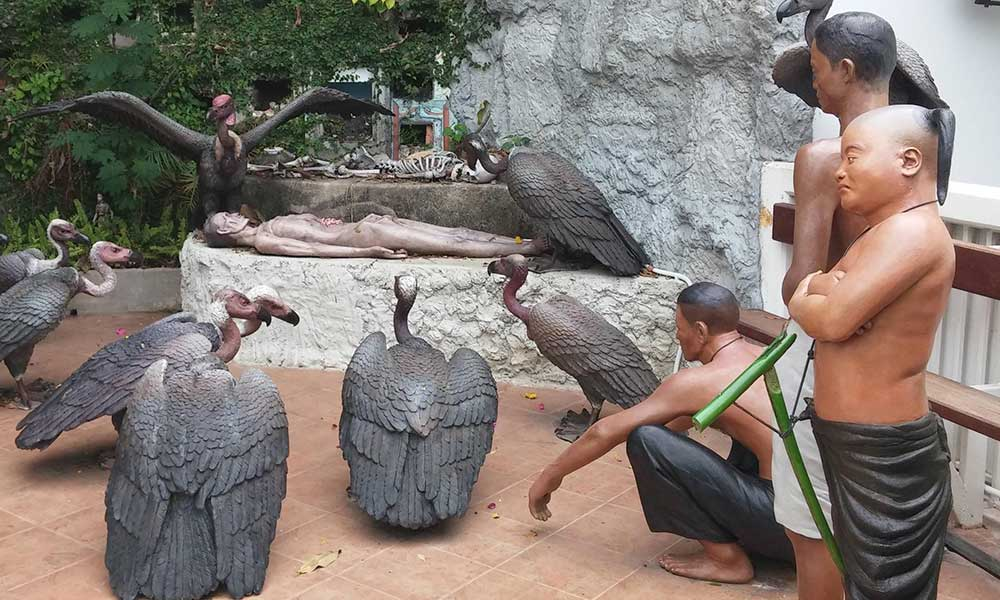 Natural Cremation Or Sky Burial