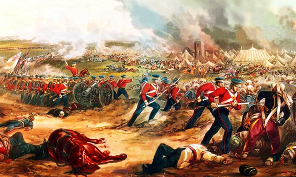 First War Between India And England