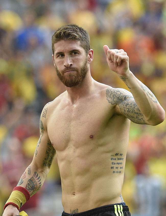 #FIFAWorldCup2014: These Top 10 Tattoos From The WC Stars ...