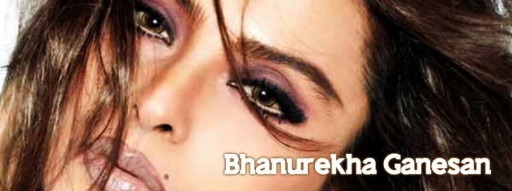 Real Name of Rekha is Banurekha Ganesan