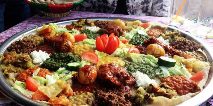 Addid ababa in ethiopia international holiday destination for Abyssinia ethiopian cuisine