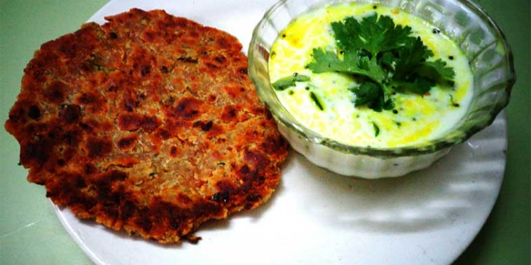 dahi-tadka-with-paratha