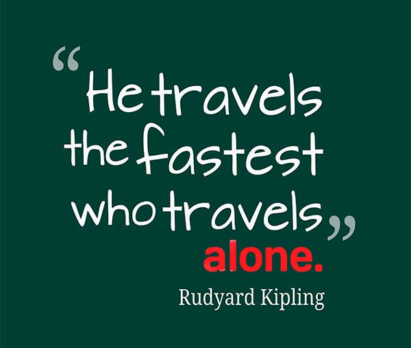 travelling-alone