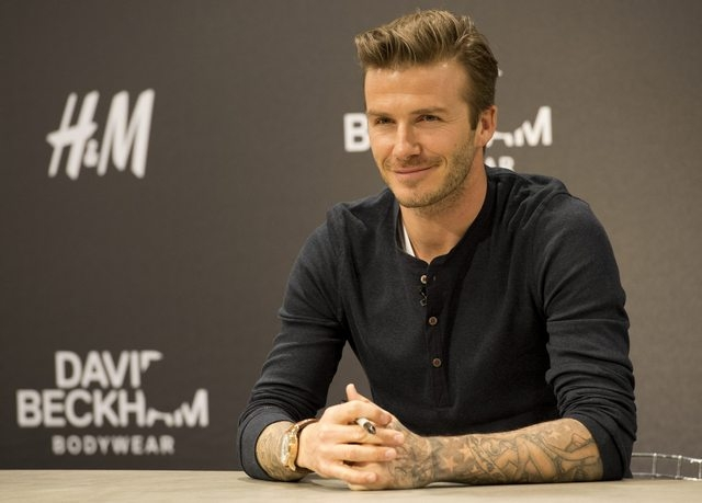 David Beckham Launches Clothing Range - Youngisthan.in