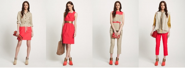 Red-Pre-Spring-Clothing-by-Elie-Tahari-as-Women-Collection