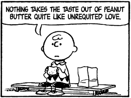 Why unrequited love is actually good for you for Charlie brown zitate