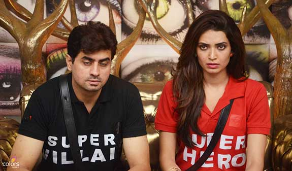 Pritam and Karishma in Bigg Boss 8
