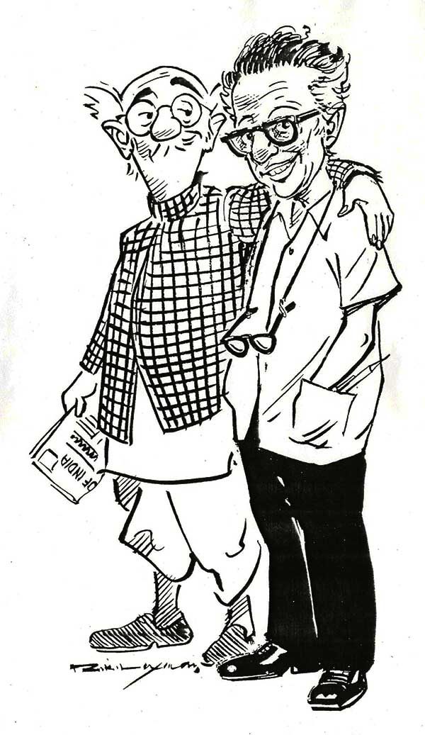 R K laxman with his common man