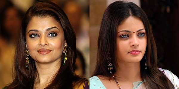 Aishwarya Rai and her look alike Sneha Ullal