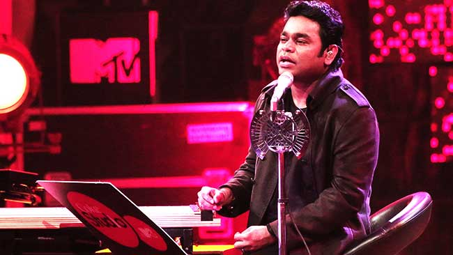 A R Rehman at Coke Studio MTV