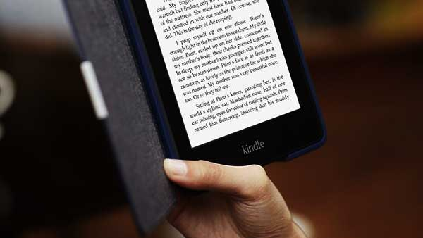 Kindle, Good for eyes