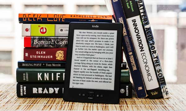 Kindle helps you read more books