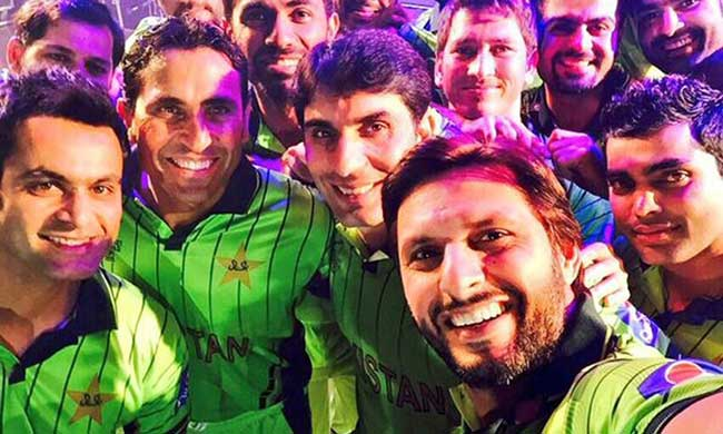 Pakistan cricket team WC 2015