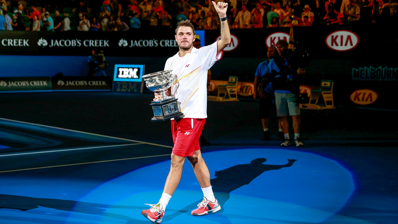 Stan Wawrinka won the 2014 Australian Open