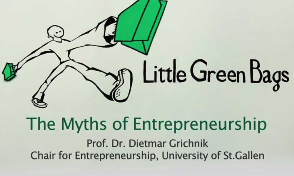 The myths of entrepreneurship