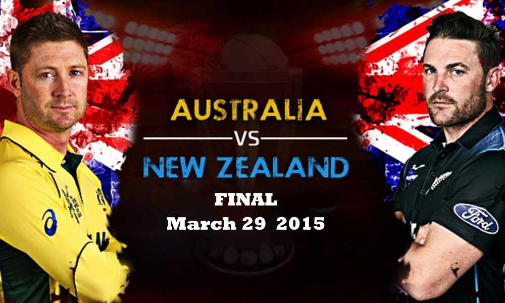 Australia vs New Zealand