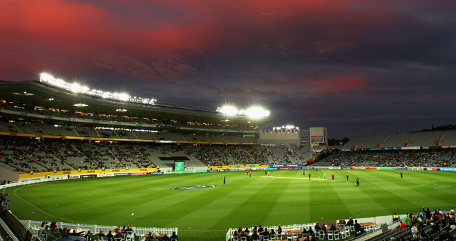 India and Zimbabwe will play their match at Eden Park, Auckland