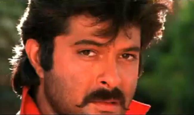 Anil Kapoor's famous handlebar moustache from Ram Lakhan