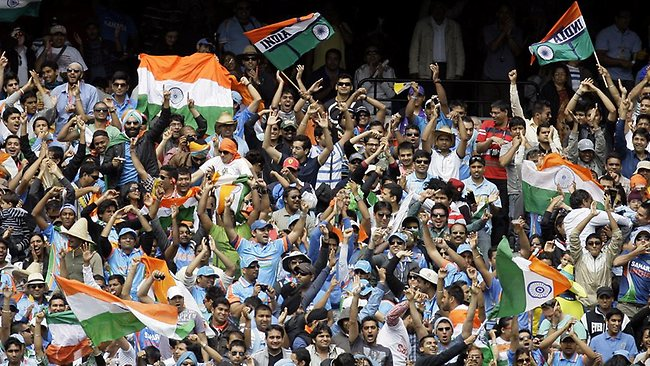 Indian fans residing in Australia will support the Men in Blue, too