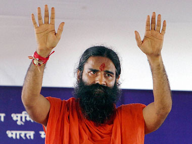 Baba Ramdev claimed to have a cure for swine flu in 2013