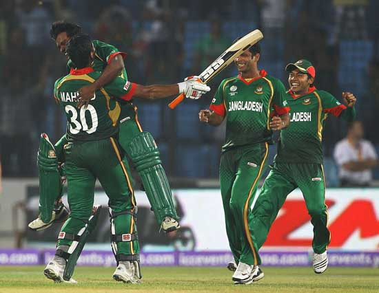 Bangladesh beat England by 15 runs