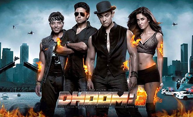 Dhoom 3 made over 500 crores at the box-office