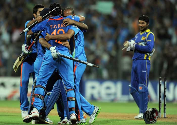 India vs. Sri Lanka in the 2011 World Cup was the first all-host finale