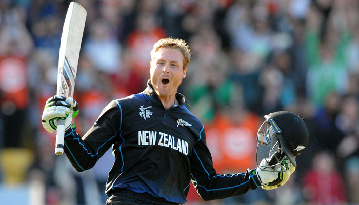 Martin Guptill will have to play a big innings to ensure New Zealand's win
