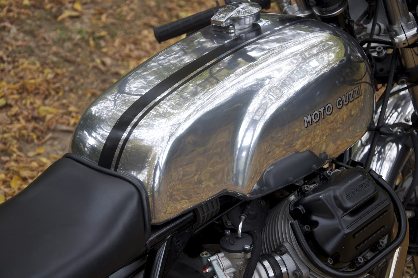 A heated motorcycle is tough to handle