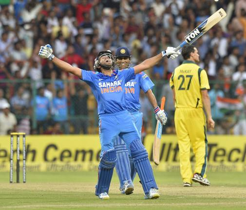 Rohit Sharma's 209 runs set the tone for India as they amassed 383 runs in 50 overs
