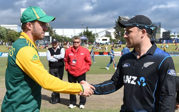 The first semi-final match will be played between South Africa and New Zealand at Auckland