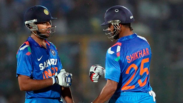 Rohit Sharma and Shikhar Dhawan's opening partnership will be crucial