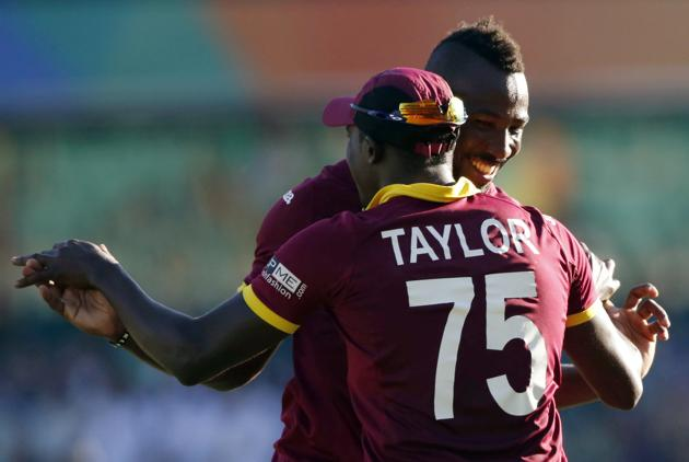 Jerome Taylor and Andre Russell were the most successful West Indian bowlers
