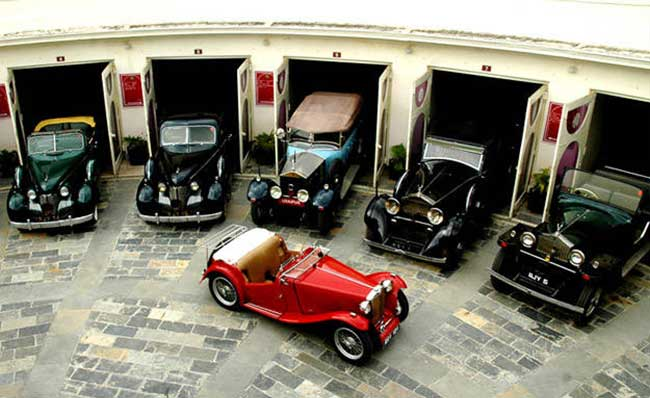 Vintage Collection of Classic Car Museums, Udaipur