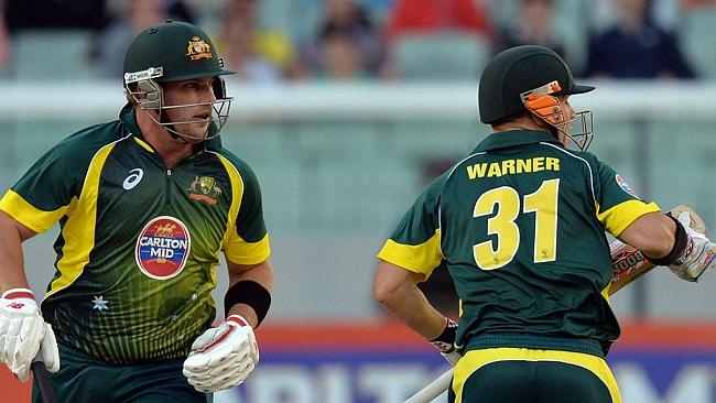 Australian opening partnership of Aaron Finch and David Warner has not really clicked