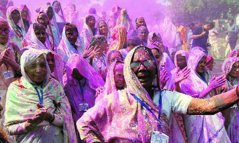 Widow Holi in Banaras
