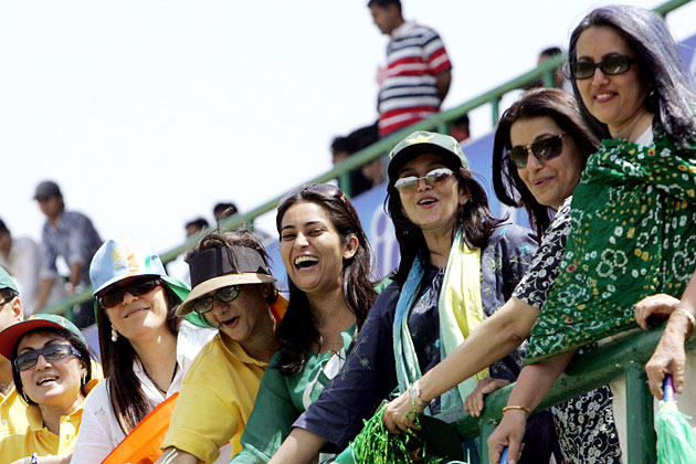 Female cricket fans would be cheering the Indian cricketers